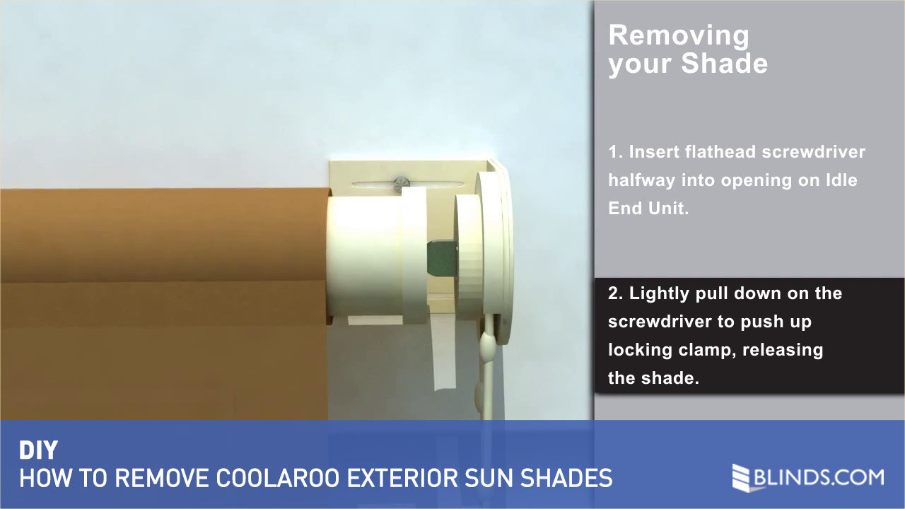 coolaroo exterior sun shade removal u0026raquo exterior solar shades how to remove video gallery