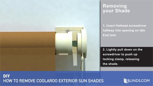 Coolaroo Exterior Sun Shade Removal Raquo Exterior Solar Shades