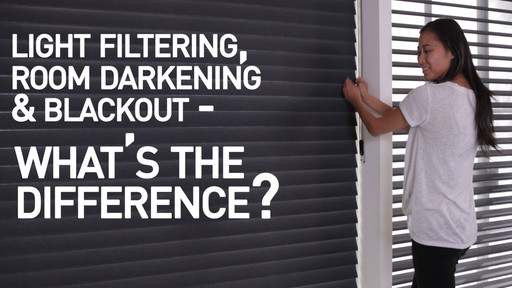 Light Filtering Vs Room Darkening Vs Blackout Shades Whats The
