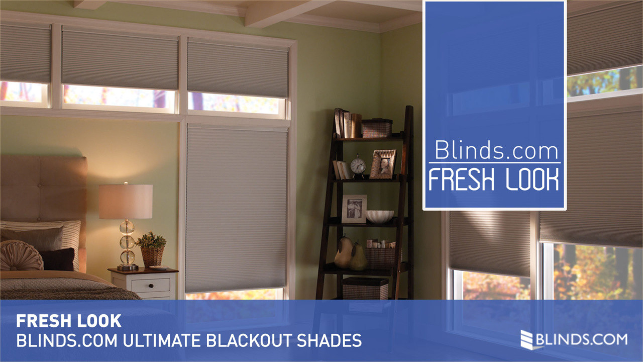 blindscom ultimate blackout cellular shades fresh look video gallery