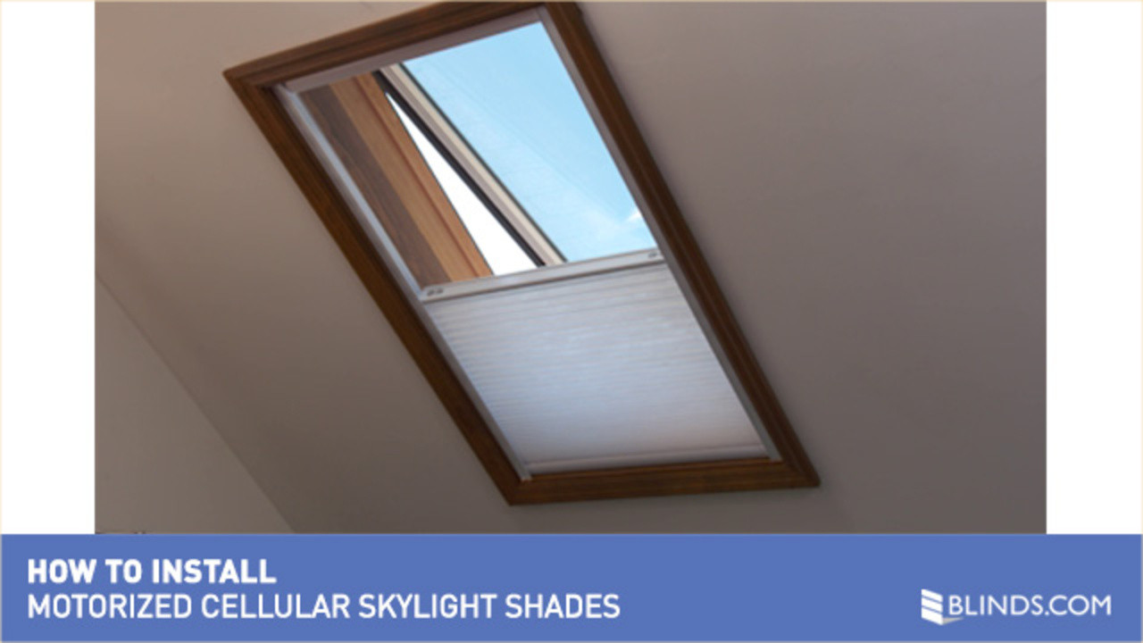 How to Install Motorized Skylight Shades » Skylights And ...