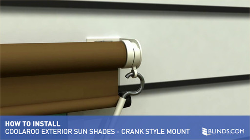 Coolaroo Exterior Sun Shade Installation Overview Crank Style Controls Raquo Solar Shades How To Install Blinds Video Gallery