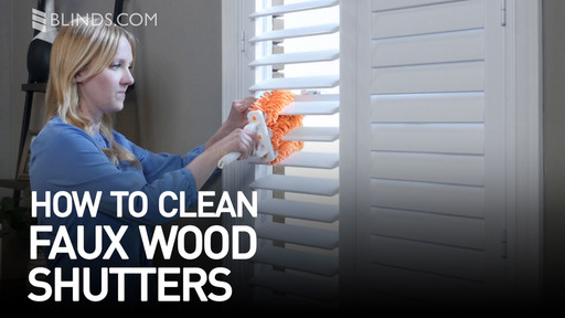 easy to clean blinds easy way how to clean faux wood shutters raquo diy care and cleaning easy to blindscom video gallery