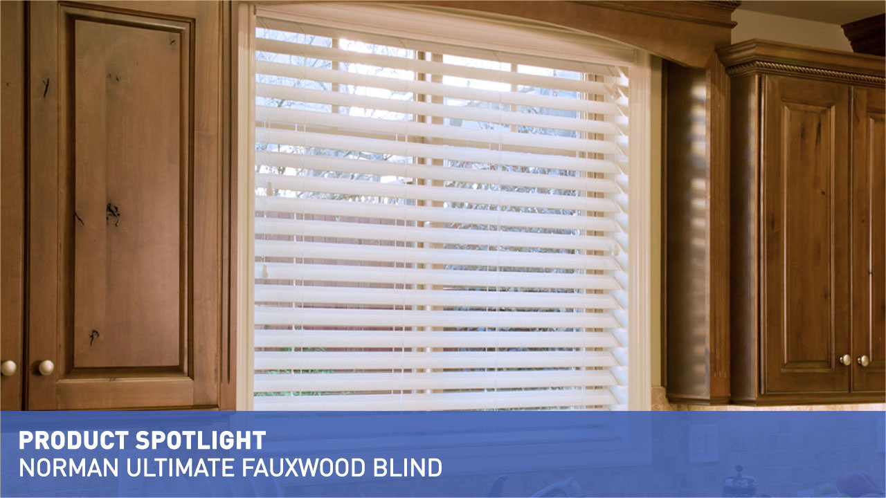 Norman Ultimate Faux Wood Blinds With Smartprivacy Raquo Product Spotlight Standard Water Resistant Low Price Whats New Por Products