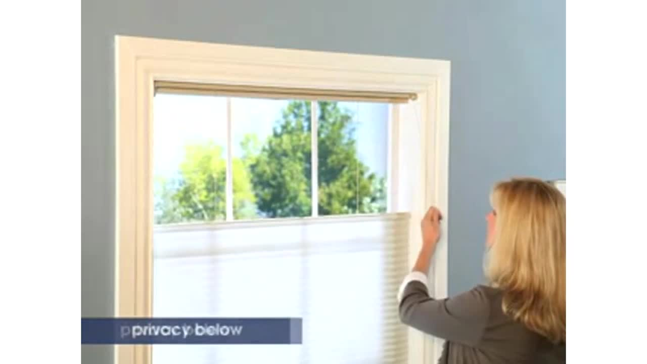 levolor accordia cellular with u0026raquo cellular shades product options top down bottom up video gallery - Levolor Shades