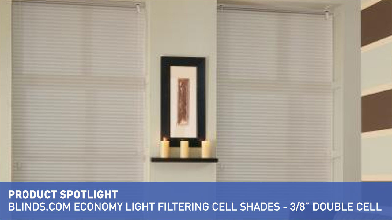 economy light filtering cellular shade 38u002634 u0026raquo cellular shades product spotlight blindscom insulating video gallery