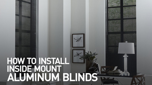 how to install mini blinds inch aluminum watermark learn how to install mini blinds blindscom