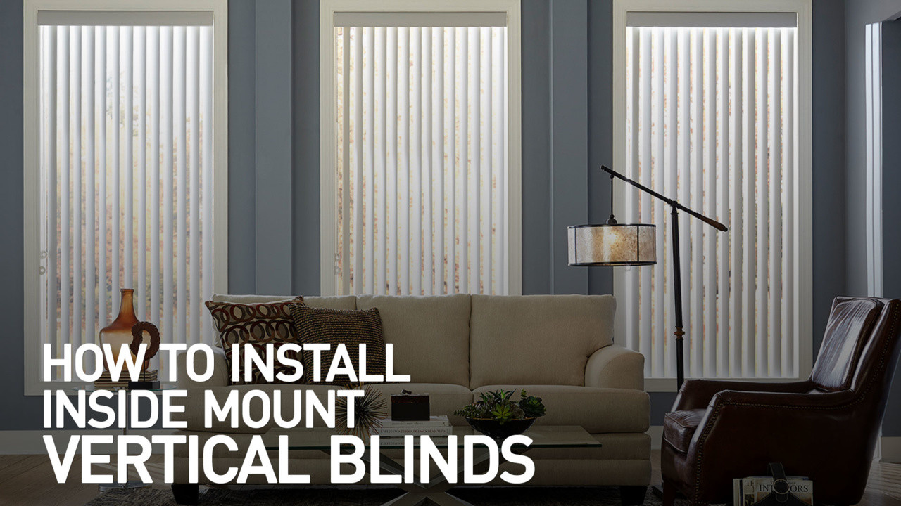 install watch how installing control wand mount with vertical blinds to outside bali