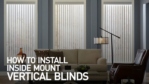 How To Install Vertical Blinds Video Inside Mount Raquo Instimblindvert Gallery