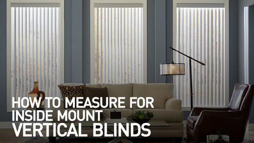 How To Measure For Inside Mount Vertical Blinds Raquo Measimblindvert Video Gallery