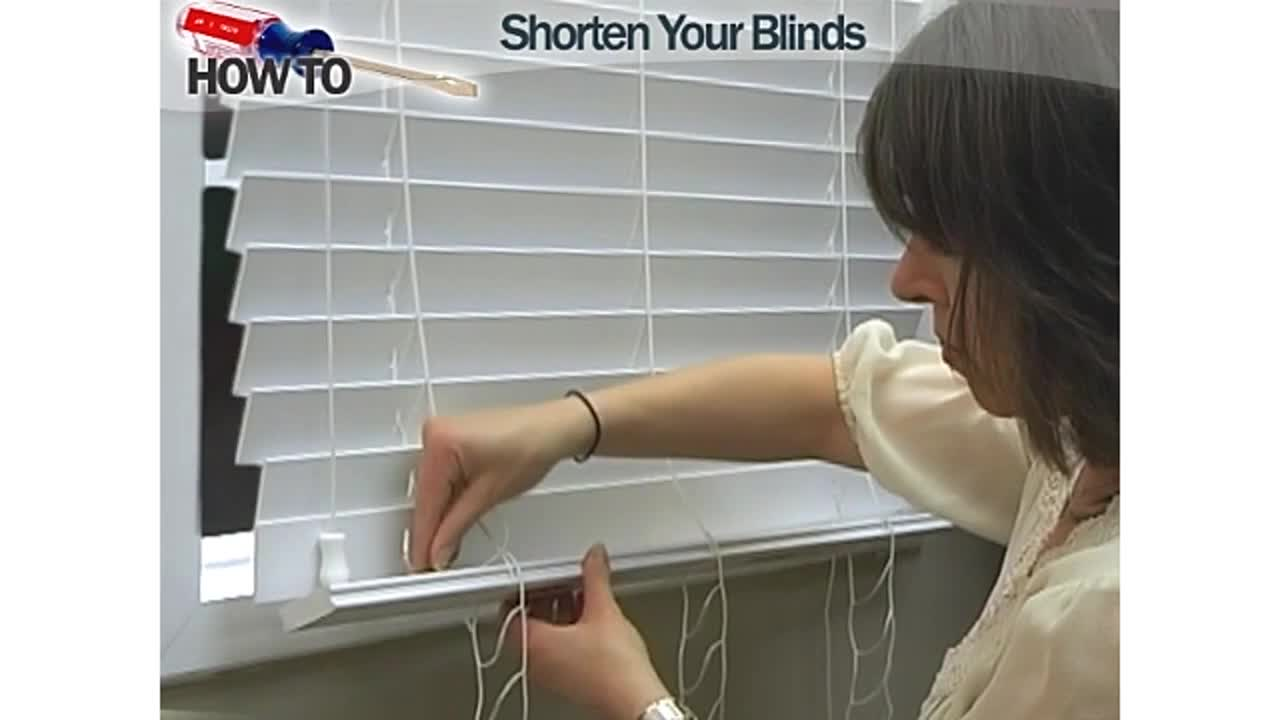 how to shorten blinds wood and fauxwood u0026raquo diy wood blinds faux wood blinds video gallery