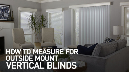 How To Measure For Outside Mount Vertical Blinds Raquo Measomblindvert Video Gallery