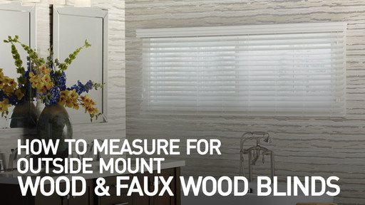 how to measure for outside mount wood and faux wood blinds raquo
