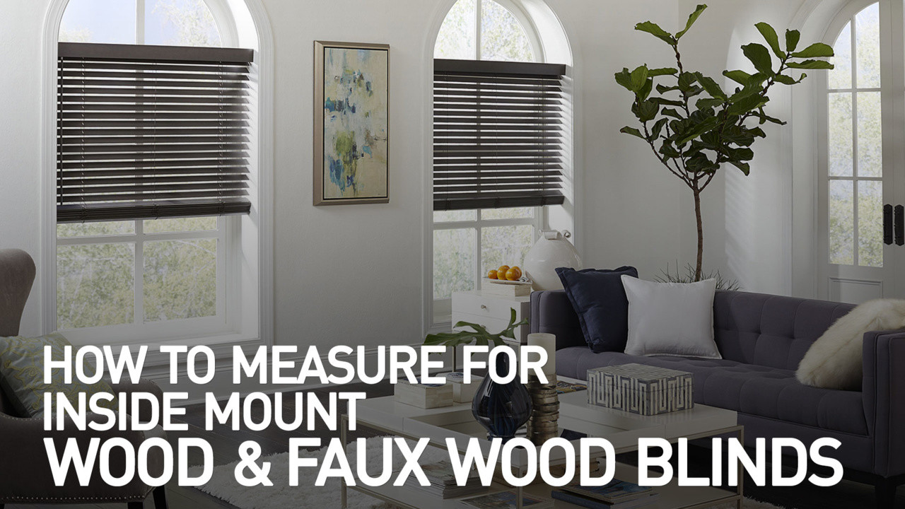 How to Measure for Inside Mount Wood and Faux Wood Blinds &raquo ...