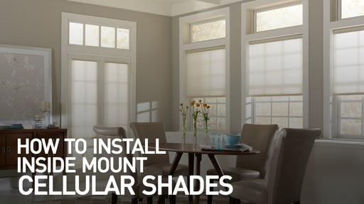 How To Install Inside Mount Cellular Shades Raquo Instimshadecell Blinds Video Gallery