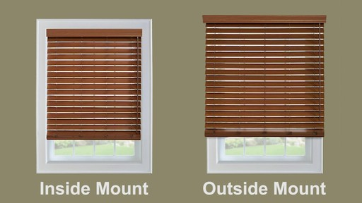 When To Choose An Outside Mount Blind Or Shade American Blinds