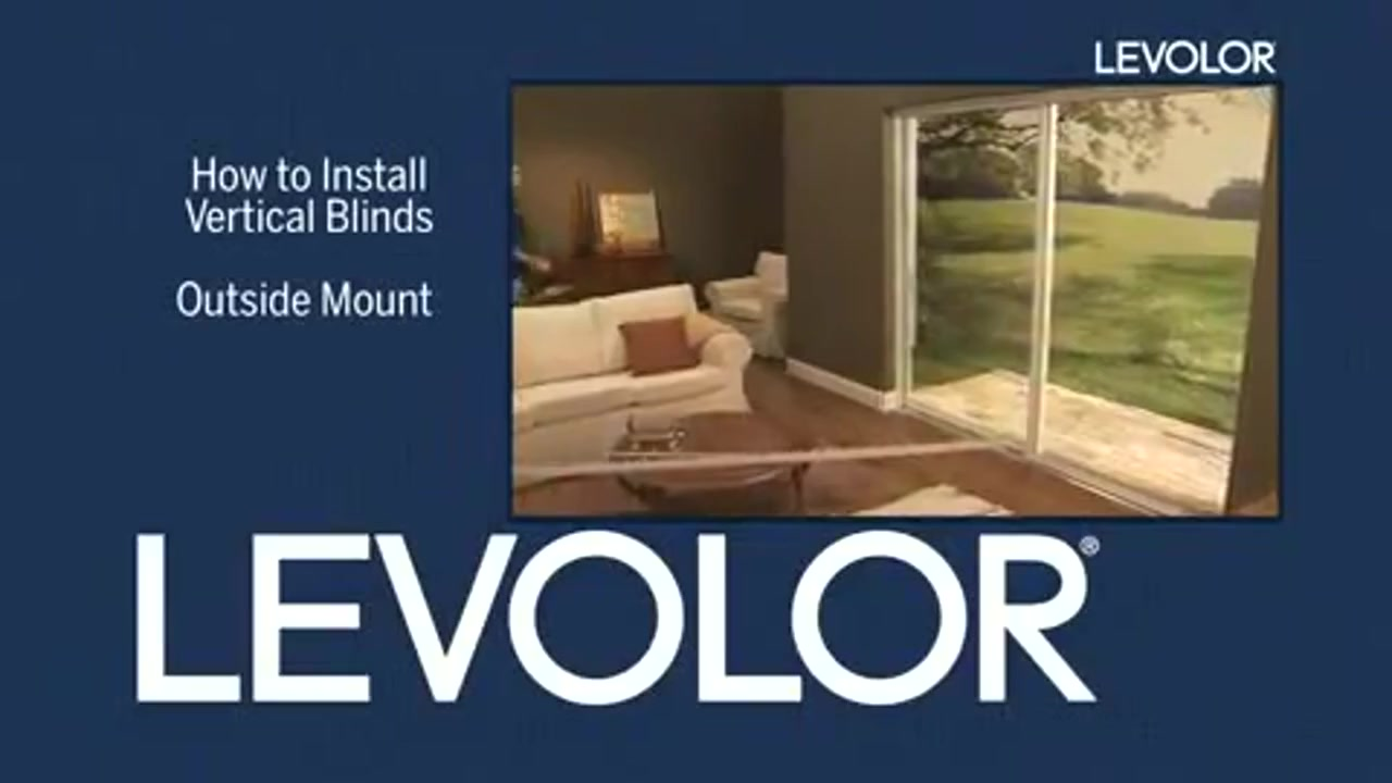 outside how flv installing v video vertical gallery levolor install mount thumb american to blinds