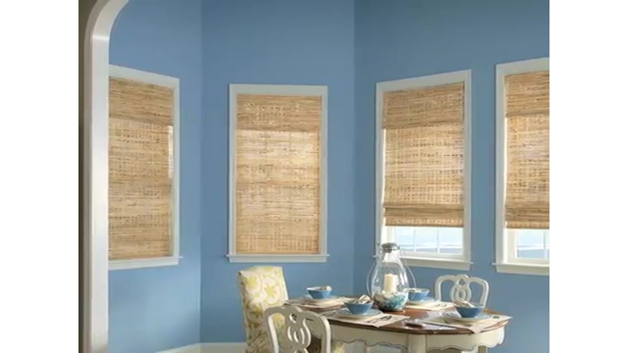 Bali Pleated Shades Woven Wood Image 20