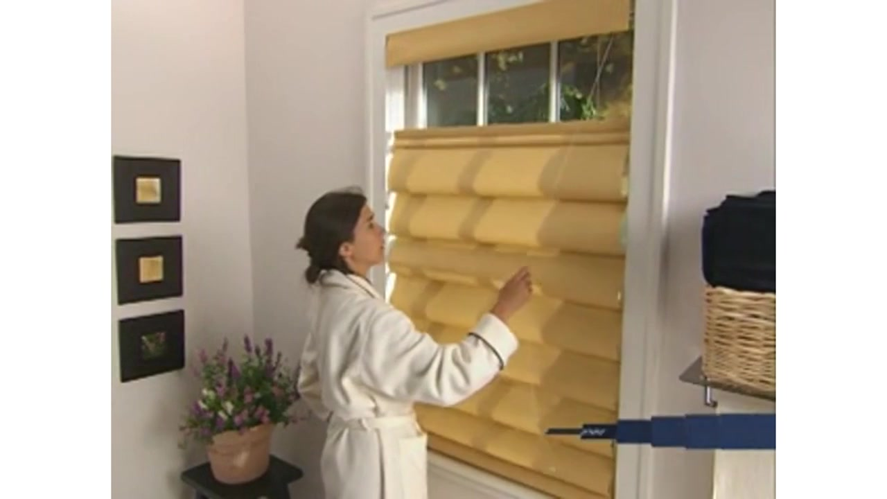 Levolor Fabric Roman Shades With Top Down Bottom Up Option Raquo Levoloropttdburoman American Blinds Video Gallery