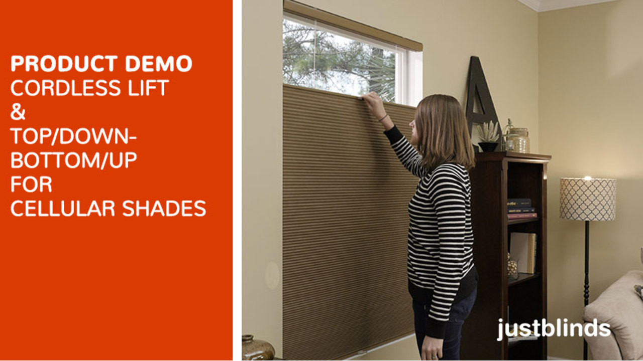 cordless lift with for cellular shades video gallery