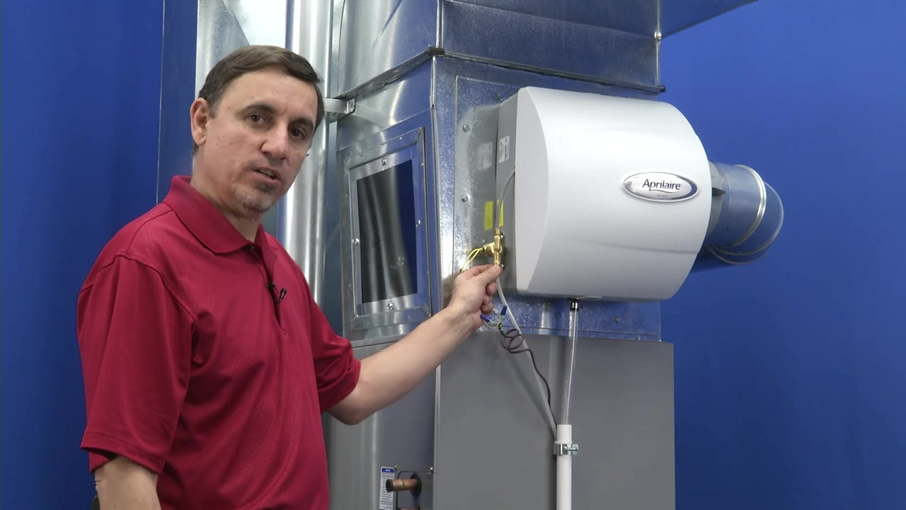 Aprilaire Humidifier Wiring