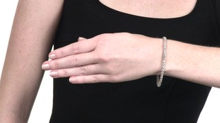 4 Ct T W Diamond Tennis Bracelet In 10k White Gold Mouse Over The Image To Zoom Or Click Here View Larger