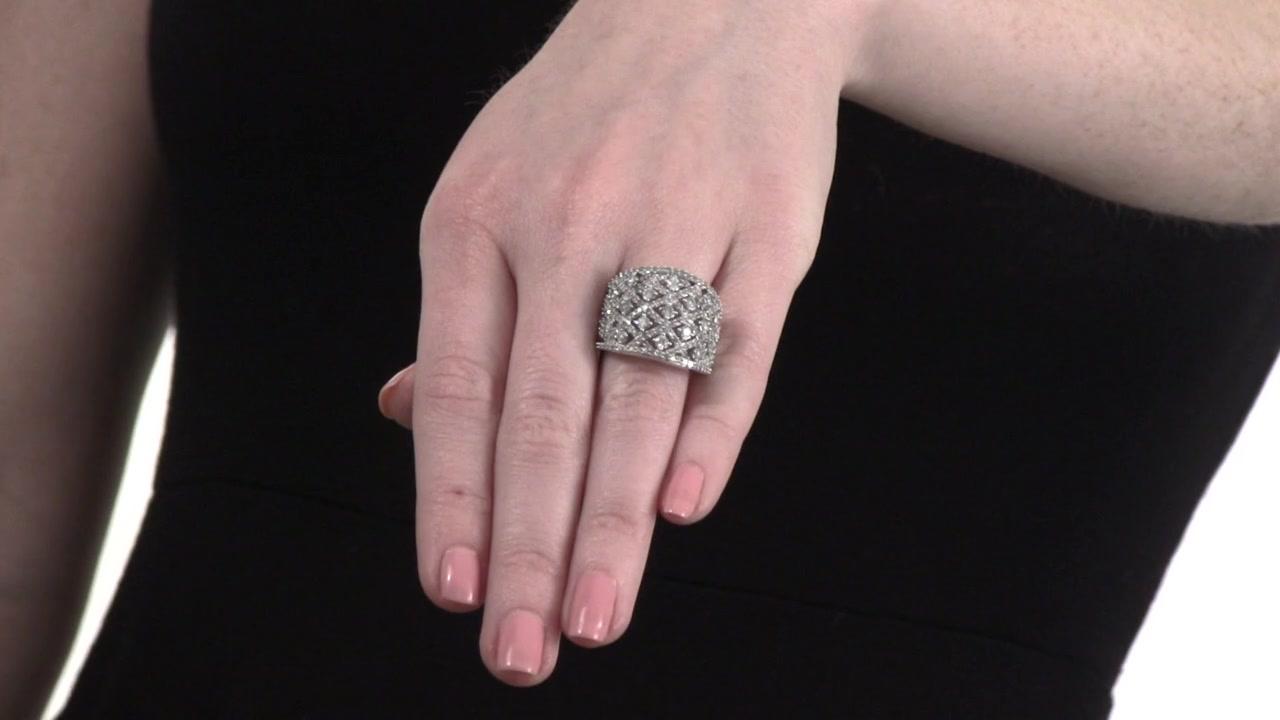 Diamond Lattice Ring in 10K White Gold 2 CT. T.W. » Shop Zales ...