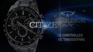7760f7d83bf1 Men s Citizen Eco-Drive® PCAT Chronograph Rose-Tone Watch with Brown Dial  (. Mouse over the image to zoom or click here to view larger image Click  here to ...