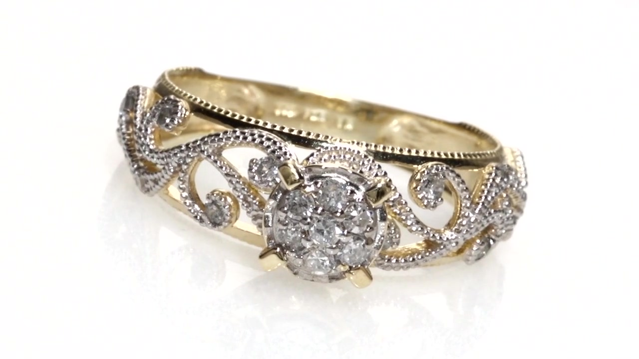 in v t composite p ring gold engagement double ct diamond frame w tw white