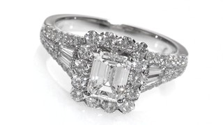Neil Lane Engagement Ring 1-7/8 ct tw Diamonds 14K White Gold LHT2M6JHG