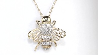 110 ct tw diamond bumblebee pendant in 10k gold diamond tw diamond bumblebee pendant in 10k gold mouse over the image to zoom or click here to view larger image click here to view larger image aloadofball Gallery