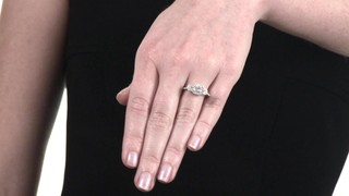 ... Three Stone Engagement Ring in 10K White. Mouse over the image to zoom  or click here to view larger image Click here to view larger image 6f3c4bcf6faa