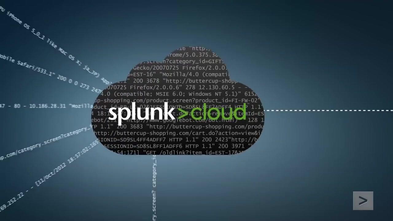 Splunk Cloud Overview