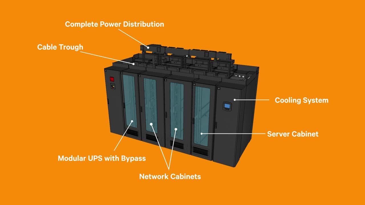 Vertiv SmartRow DCX Modular Data Center