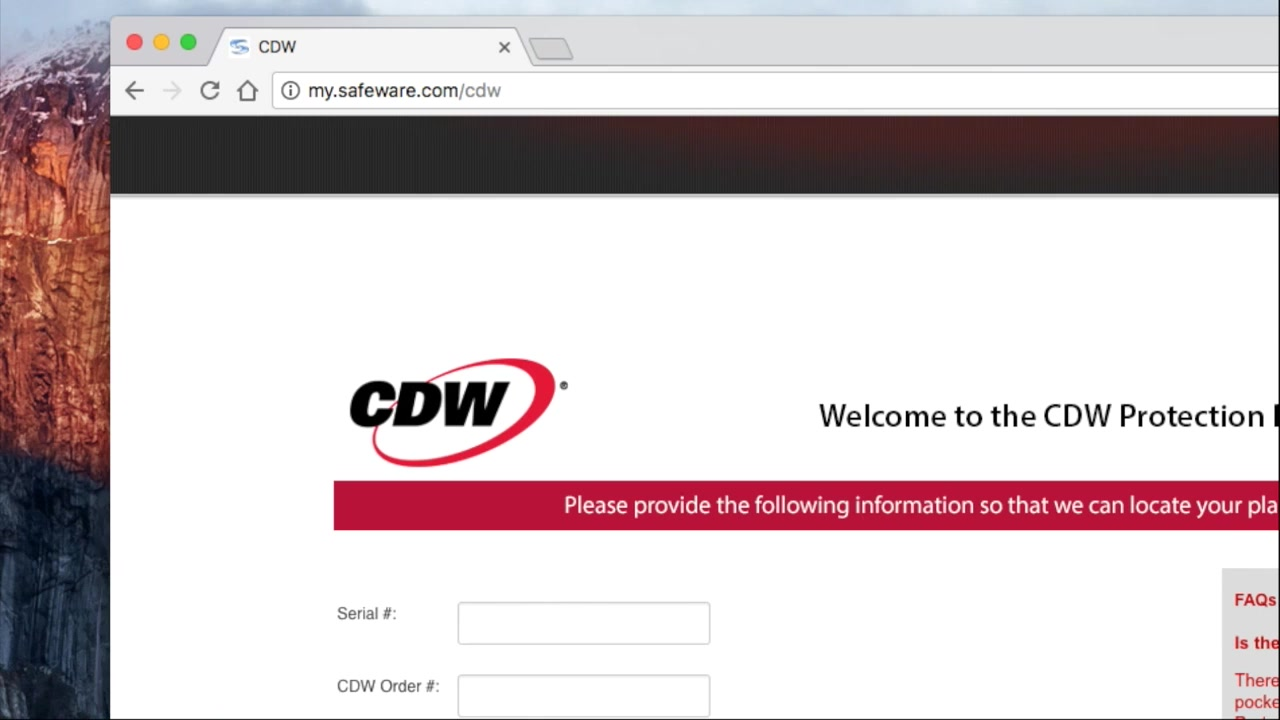 Warranty Maintenance Services Protect Your Tech Cdw