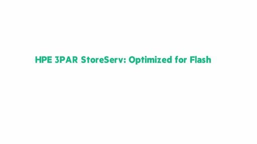 HPE 3PAR Architecture for All Flash ChalkTalk