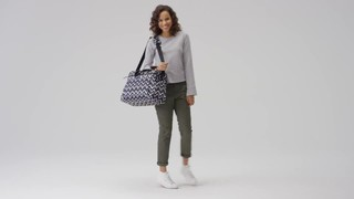 59c40285a Click to zoom and shrink. Added to My Favorites. Add to My Favorites. Vera  Bradley Lighten Up Weekender Travel Bag