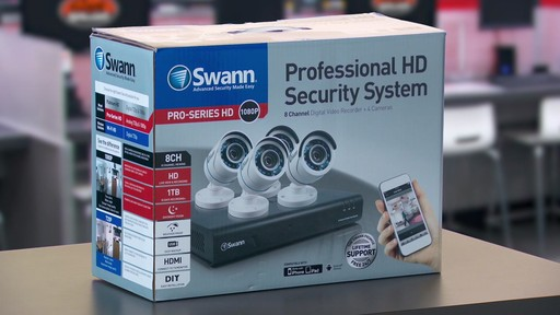 Swann Security Camera Setup and Control: Geek Squad - Best Buy