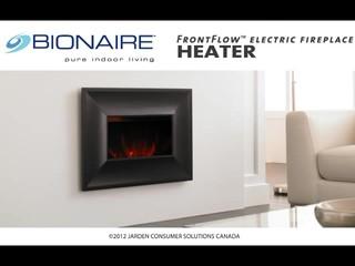 Bionaire® FrontFlow Electric Fireplace Heater » BEF6700-CN ...