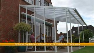 Video: Palram Feria 10 X 20 Patio Cover And Palram Feria Patio Cover  Sidewall