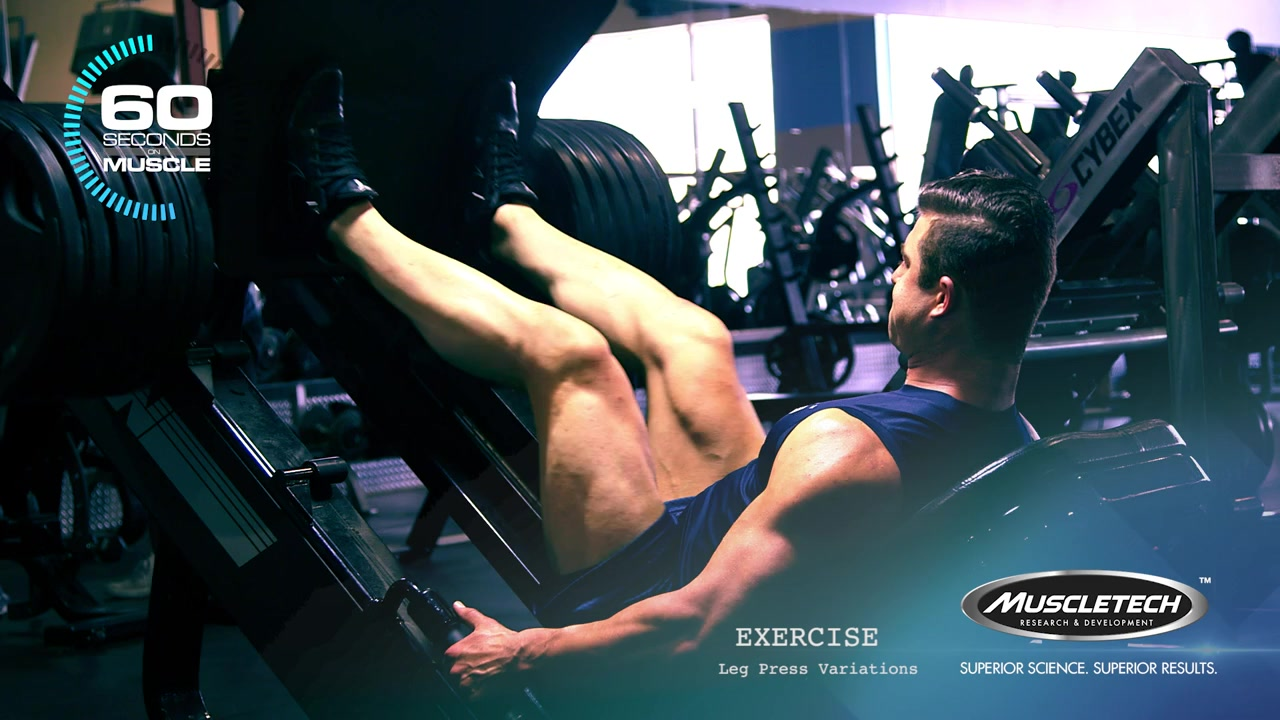 60 seconds on muscle with jase stevens - leg press variations, Muscles
