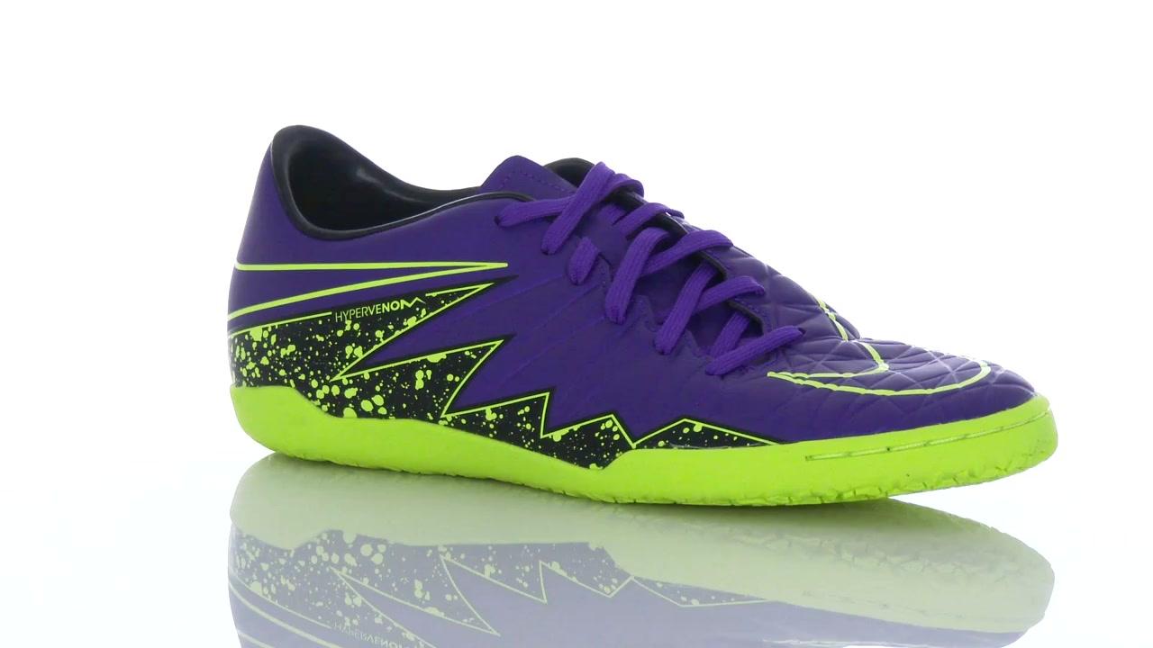 NIKE Mens Hypervenom Phelon II IC Indoor Soccer Shoes ...