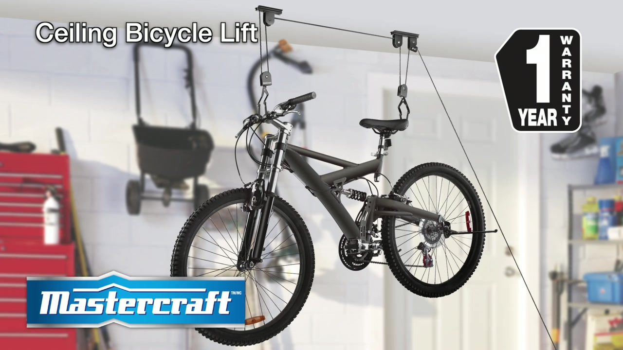 Mastercraft Ceiling Bicycle Lift Canadian Tire