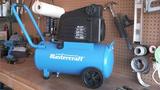 Mastercraft 8 Gallon Air Compressor, 1 5-hp