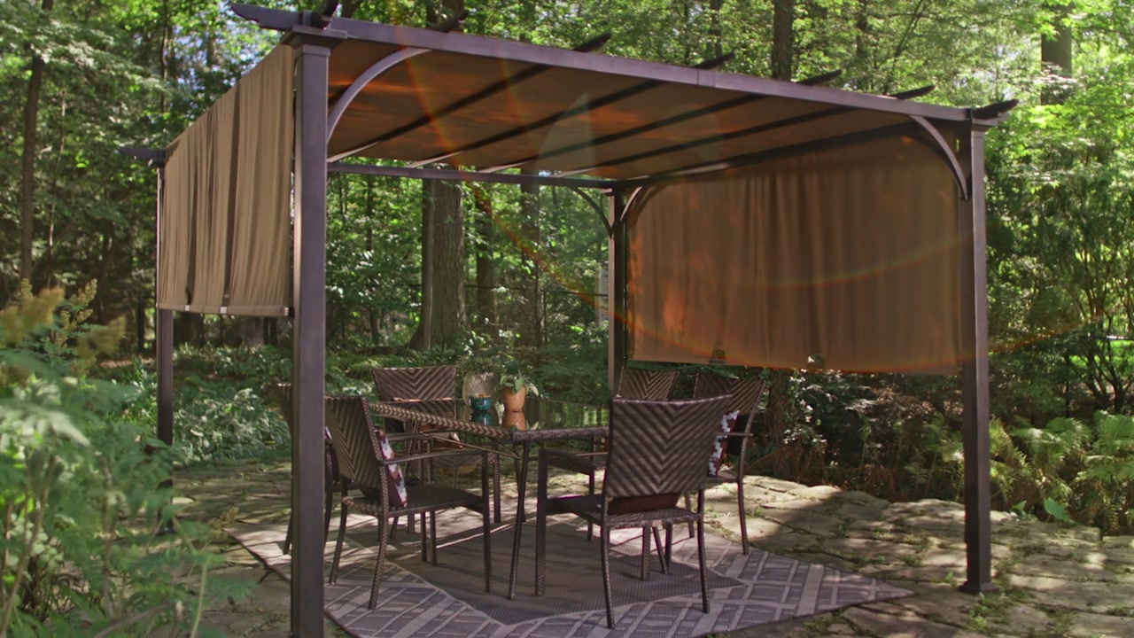 Watermark & Canvas Summer House Pergola | Canadian Tire