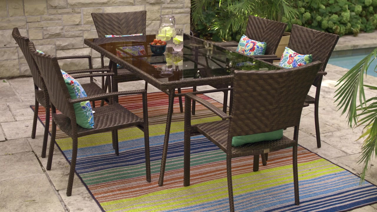 Awesome CANVAS Playa Dining Set Part 17