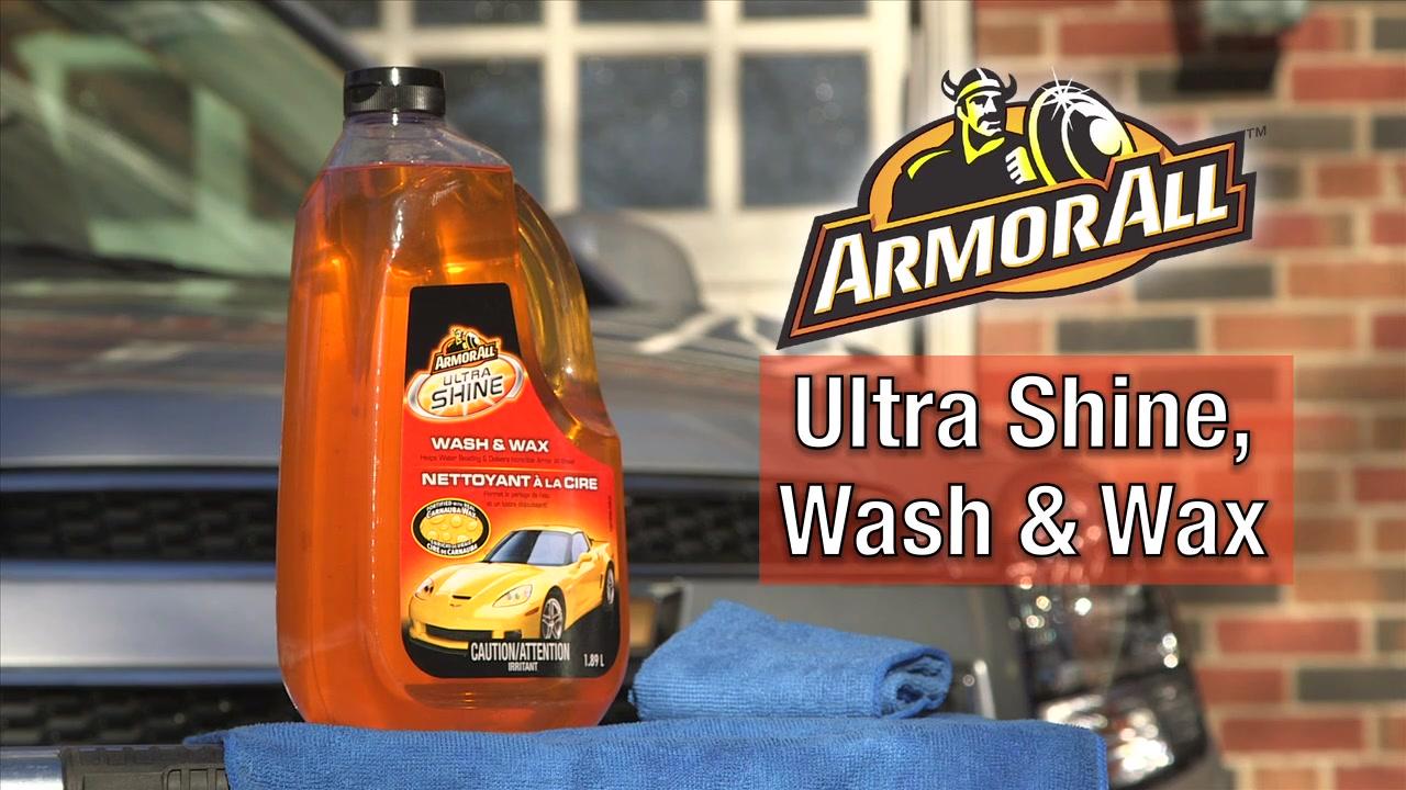 Armor all ultra shine wash wax