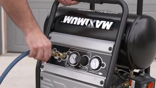 MAXIMUM 5 Gallon Jobsite Dolly Air Compressor