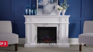 Canvas Peyton Electric Fireplace Canadian Tire