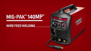 Lincoln Electric MIG-Pak® 140 Multi-Process Welder